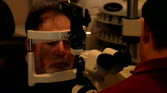 Vision Exam Stock Footage