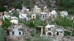 Italy - Campania - Amalfi Coast - nativity set Stock Footage
