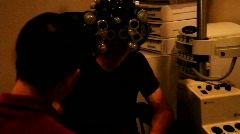Eye Doctor Stock Footage