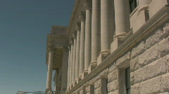Salt Lake City Capital Building 3 Stock Footage