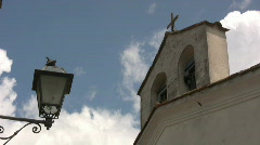 Italy - Church Stock Footage