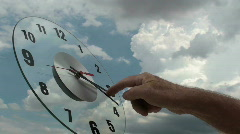 Clock Setting Stock Footage