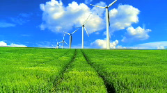 Clean Environmental Energy - stock footage