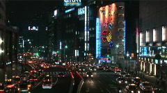 Akasaka avenue - Tokyo - stock footage