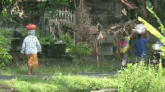 Street scene Bali, Indonesia Stock Footage