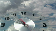 Stock Video Footage of Passing Time Clock