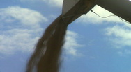Stock Video Footage of Wheat being Harvested, JVC GY-HM100E