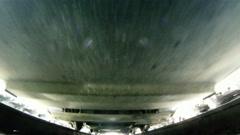 Under locomotive 1 Stock Footage