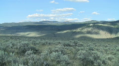 High Desert Time Lapse Stock Footage