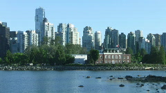 Vancouver and Discovery Island, Vancouver, Canada Stock Footage