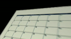 Schedule november p5 - stock footage