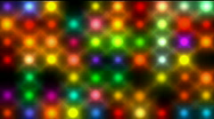 Color circle neon matrix,disco light,precious-stones,agate,jade,wealth,expensive - stock footage