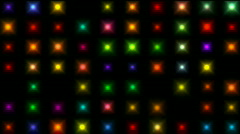 Color square matrix, disco light,holiday,precious-stones,agate,jade,wealth,expen - stock footage