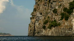 Castel On Island (Ischia, Italy) Stock Footage