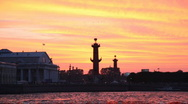 Central Military and Naval Museum in St. Petersburg Stock Footage