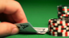 Poker1 Stock Footage