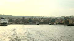 Harbour Of Napoli, Italy Stock Footage