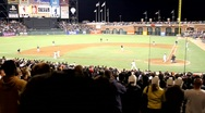 Stock Video Footage of Giants Baseball Statium