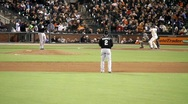 Stock Video Footage of San Francisco Giants Baseball Game