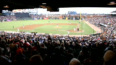 Giants Baseball Stadium - stock footage