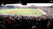 Stock Video Footage of Giants Baseball Stadium