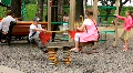 Children's playground Footage