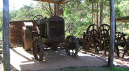 Farm tractor  Stock Footage