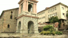 Sveta Bogoroditsa Church, Plovdiv - stock footage
