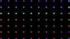 Color square neon light background,Electronics,Fireworks,stage,material,texture, Stock Footage