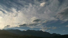 Clouds timelapse, New-Zealand Stock Footage