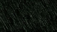 Meteor shower meteorites particle bacteria microbes ephemera plankton spores. Stock Footage