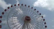 Stock Video Footage of LA Ferris wheel