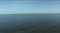 Motion Over Lake Okeechobee Stock Footage