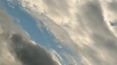Flying through clouds Stock Footage