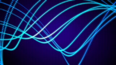 Loopable light strokes. Abstract Background. Stock Footage