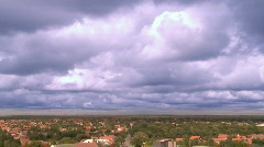 Storm Clouds timelapse Stock Footage
