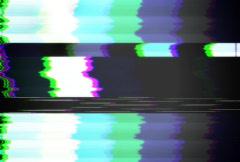 TV Test Pattern NTSC Stock Footage