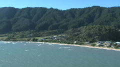 Tasman bay, New-Zealand Stock Footage