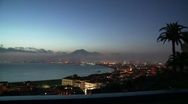 Bay of Naples from Stabia (timelapse) Stock Footage