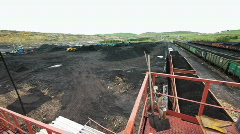 Coal production 016 Stock Footage