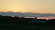 Farm-sunset-10s HD Stock Footage