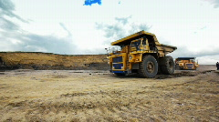 Coal production 010 Stock Footage