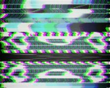 TV Test Pattern PAL Stock Footage