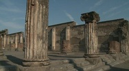 Stock Video Footage of Pompei Italy, Basilica