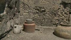 Pompei Tabernae 2 - stock footage