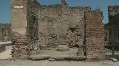 Pompei Tabernae - stock footage