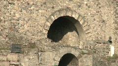 Pompei Porta Marina - stock footage