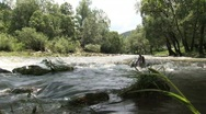 Stock Video Footage of Bulgarian river