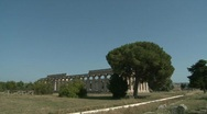 Stock Video Footage of Paestum Doric Temple 8