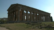 Stock Video Footage of Paestum Doric Temple 11
